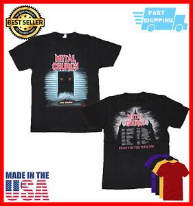 "Metal Church ""The Dark"" Tour Shirt 1987  shirt Vintage Unisex Black Size S-5XL"