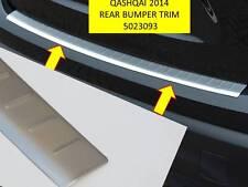 QASHQAI 2014 - 2017 REAR BUMPER TRIM  5023093T BRUSHED FINISH