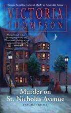 Gaslight Mystery: Murder on St. Nicholas Avenue 17 by Victoria Thompson...