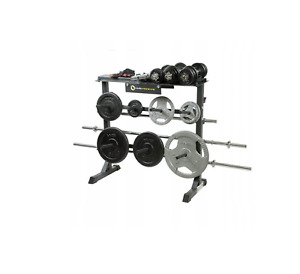 Rack for 250 Kg Plates & Bar Weights Storage Rack Stand Holder Home Weight