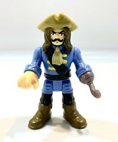 Imaginext Fisher Price Great Adventures Pirate Ship Captain Blue Hook Part