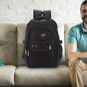 UK Mens Boys Large Backpack Rucksack Fishing Sports Travel Hiking School  Bag