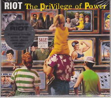 RIOT 1990 CD - The Privilege Of Power (Remastered 2017) Helloween/Rainbow NEW