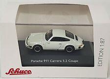Schuco/Marklin NEW HO 1/87 Scale Porsche 911 Carrera 3.2 Coupe in white finish