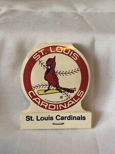 Vtg St. Louis Cardinals Matchbook MLB Schedule 1986 NOS Mint