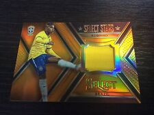 2015 Panini Select Soccer Stars Robinho Brazil Jersey Orange 30/149 Prizm