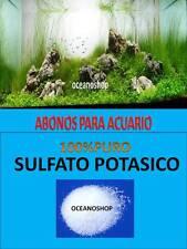 SULFATO POTASICO 90GR ABONO PARA ACUARIO PLANTADO PLANTAS PECERA ABONADO