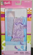 Barbie Fashion Avenue Diva Drive Purple Shimmer Dress No.C4028 NRFB 2003