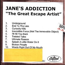 jane's addiction the great escape artist  cd limited edition new