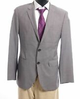 HUGO BOSS Sakko Jacket The James3 Gr.48 grau meliert Einreiher 2-Knopf -S458