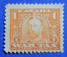 1915 1c CANADA WAR TAX REVENUE VD # FWT7 B # 7 USED                      CS30293