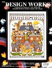 """Design Works Counted Cross Stitch Kit Noah's Ark 16"""" x 20"""""""
