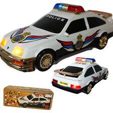 Spielzeugauto ELEKTRO Police Car 32x15 cm mit LICHT SIRENE SOUND Neu OVP Polizei