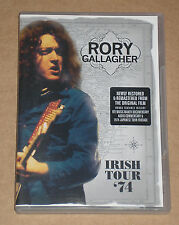 RORY GALLAGHER - IRISH TOUR '74 - DVD COME NUOVO (MINT)