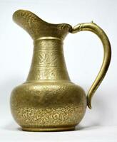 Antique Indian Brass Jug/Ewer Early 20thC
