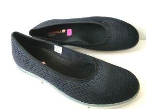 MERRELL Black Zoe Sojourn Ballet US 10.5M Lightweight Slip On Casual Shoes