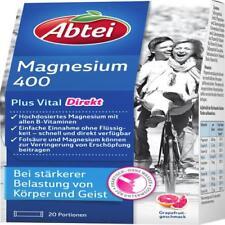 ABTEI Magnesium 400+Vitamin B Komplex Granulat 20 St PZN 7641038
