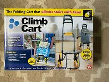 CLIMB CART STAIR CLIMBING FOLDING UTILITY TROLLEY AS SEEN ON TV NEW  FREE SHIP!