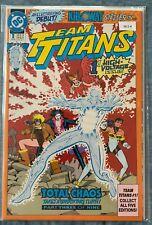 Team Titans 1 Total Chaos High Grade Comic Book ML1 - 4