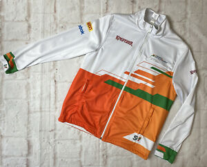 AC48 Vintage Formula One Sahara Reebok Jacket Fleece Mens Small