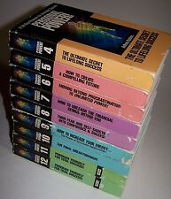 Vintage 1989 Anthony Tony Robbins Personal Power Cassette Volumes 4-12