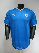 PUMA prima maillot équipe nationale ITALIENNE VINTAGE art.733916 col bleu