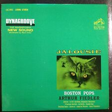 Jalousie Fiedler Boston Pops Living Stereo 1s/1s Vinyl LP Shaded Dog PLAYS GREAT