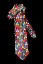 Christmas Necktie Teddy Bears Xmas Trees Parcels Novelty Fun TIE