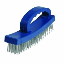 Silverline D-handle Wire Brush 4 Row 250554 Us1