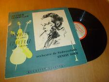 ERNEST BOUR symphonie pour cordes &.. ARTHUR HONEGGER - DUCRETET THOMSON Lp 50's