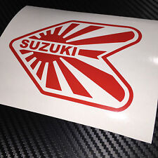 Red SUZUKI Wakaba JDM Adesivo Decalcomania Drift IMPORT TUNER