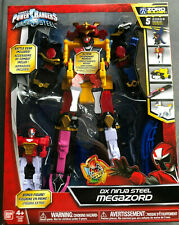 Power Rangers Ninja Steel Dx Ninja Steel Megazord Action Figure Brand New