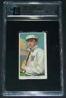 1909-11 T206 Wid Conroy with Bat on Shoulder Piedmont GAI 3 Crossover Candidate!