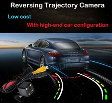 4 LED Color Car Dynamic Track Trajectory Rearview Camera For Mercedes-Benz