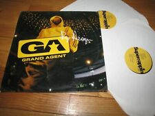 GRAND AGENT - BY DESIGN - GROOVE ATTACK RECORDS DOUBLE LP