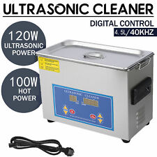 45l Digital Ultrasonic Cleaner Commercial Jewelry Glasses With Heater Timer Usa