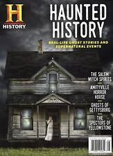 History Channel Magazine HAUNTED HISTORY ~ Real-Life Ghost Stories & Events -NEW