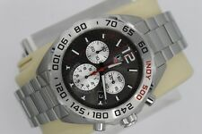 NEW Tag Heuer Formula 1 Watch Mens CAZ1114.BA0877 INDY 500 SS CHRONOGRAPH Silver