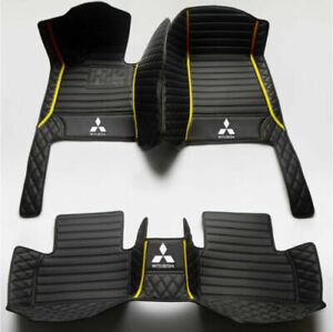 Car Foot Mats Mitsubishi Outlander  Waterproof Liner Front & Rear carpet