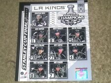 Los Angeles Kings Team Composite Stanley Cup 2012 Autographed 8x10 Photo