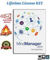 Mindjet MindManager 2019✅ Instant delivery 🔑LIFETIME LICENSE Key ✅