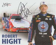 2017 Robert Hight signed AAA Chevy Camaro Funny Car NHRA postcard