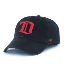 Detroit Red Wings Vintage 47 Brand Clean Up Hat Mens Hockey Cap Unisex OSFA Blk