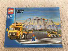 LEGO City 7900 Heavy Loader Instructions  + FREE P&P *(NO LEGO)