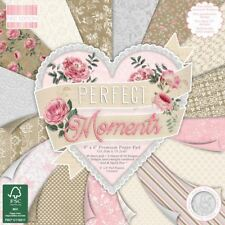 Premium Craft Cardstock First Edition 6x6 DESIGNER Paper Pad - Moments