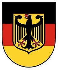 Autoaufkleber Sticker Deutschland Adler Schild Kontur Fahne NEU Aufkleber