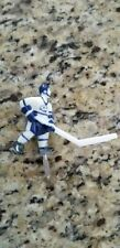 Super Chexx Bubble Hockey Replacement Player with Short Stick -  Blue & White