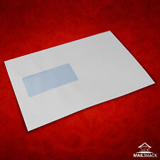 High Quality C5 Envelopes | White 90gsm Self Seal Window 10 20 50 100 250 etc