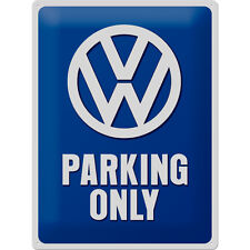 VW Parcheggio simbolo segno di ripro OFFICINA GARAGE MESSA PUNTO POSTER 566