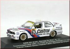 "BMW M3 E30 "" Castrol "" TW-WM 1987 #63 3rd Spa - Garage Du Bac - IXO - 1:43 - LE"